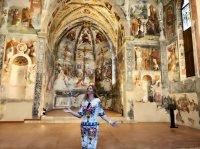 Варвара отмечает день рождения в Италии